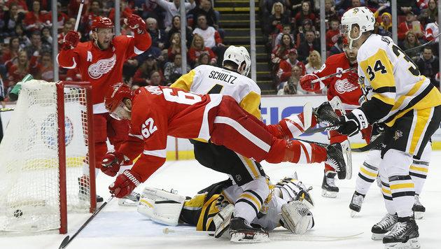 NHL: Vanek mit Glanzleistung bei Sieg von Detroit (Bild: AP)