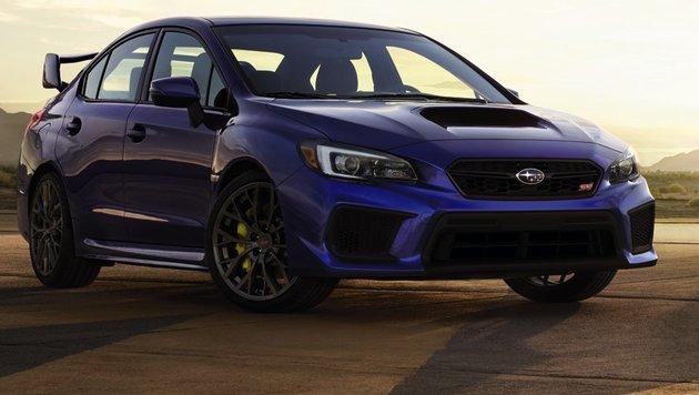 Neues Kampfgesicht für den Subaru WRX STi (Bild: Subaru)