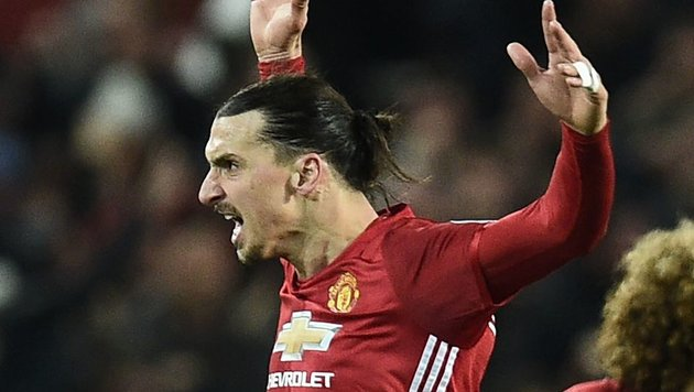 "Super-Ibrahimovic rettete ManU ""X"" im Finish (Bild: AFP or licensors)"