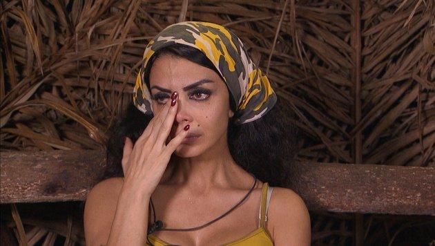 Der dritte Tag in Folge bei Reis und Bohnen schlägt besonders Kader Loth aufs Gemüt. (Bild: RTL)