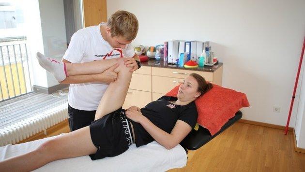Christine Scheyer - diese Dame erlöste den ÖSV (Bild: Olympiazentrum Vorarlberg)