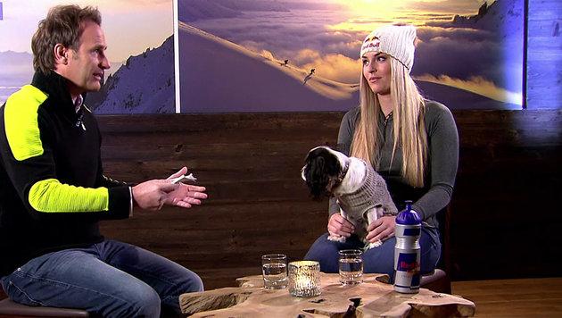 Lindsey Vonn wird jetzt sogar TV-Serienstar (Bild: ORF)