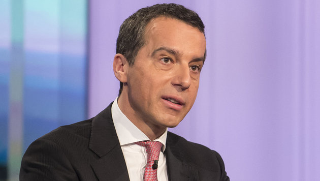 """Christian Kern in der """"Pressestunde"""" (Bild: ORF)"""