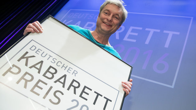 Alfred Dorfer erhielt Deutschen Kabarett-Preis (Bild: APA/dpa/Daniel Karmann)