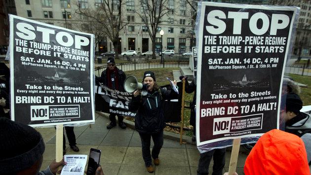 Vor Amtseinführung: Diese Konflikte heizt Trump an (Bild: AP)