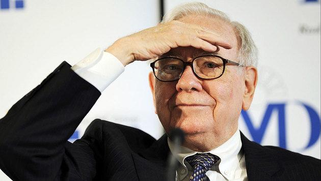 Warren Buffet (Bild: AFP/picturedesk.com/Thomas Lohnes)