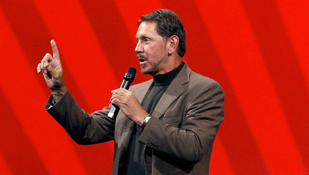 Oracle-Chef Larry Ellison (Bild: EPA/epa Monica M. Davey)