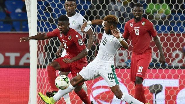 Afrika-Cup: Titelverteidiger startet enttäuschend (Bild: APA/AFP/ISSOUF SANOGO)