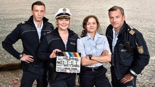 """Familien- und Krimi-Serie """"WaPo Bodensee"""" startet (Bild: ARD/SWR/Patrick Pfeiffer)"""