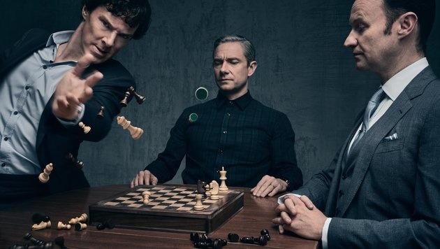 """""""Sherlock"""" im Netz: Macher bitten um Rücksicht (Bild: BBC)"""