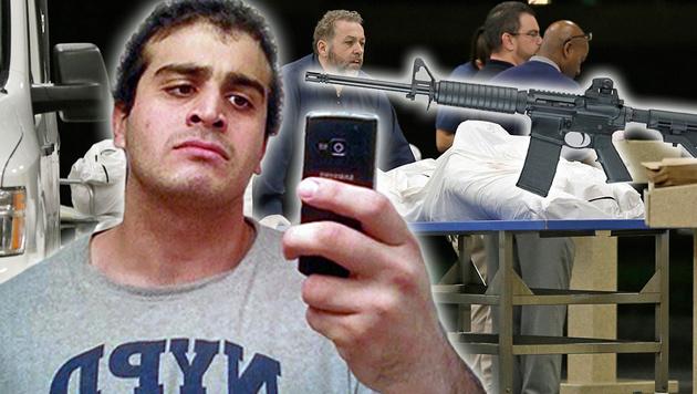 USA: Ehefrau von Orlando-Killer festgenommen (Bild: AP/Alan Diaz, MySpace.com, twitter.com)