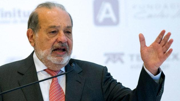 Carlos Slim (Bild: APA/AFP/Pedro Pardo)