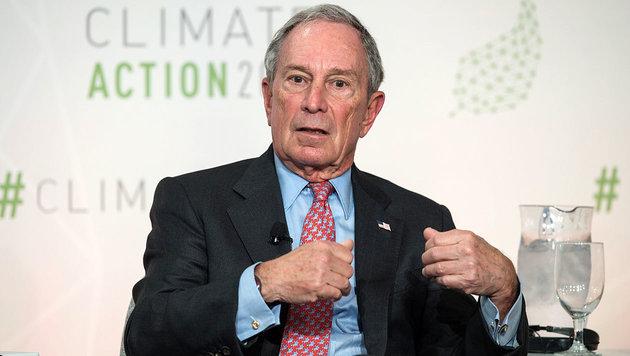 Michael Bloomberg (Bild: APA/AFP/Nicholas Kamm)