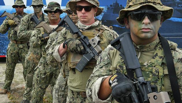 """Sieht sich mit schweren Vorwürfen konfrontiert: die US-Eliteeinheit """"Navy Seals"""" (Bild: Facebook.com/US Navy Seals)"""