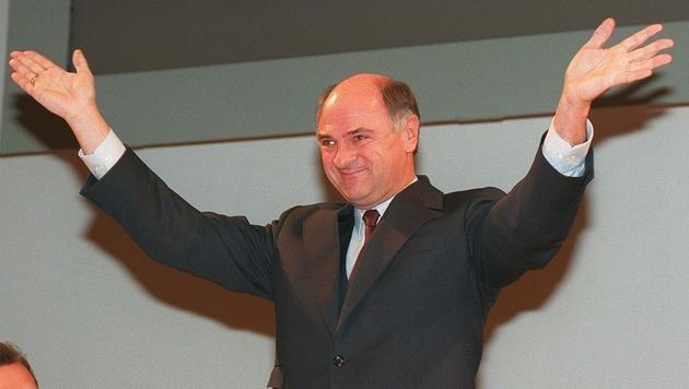 Erwin Pröll kurz vor seinem 50. Geburtstag (Bild: APA)