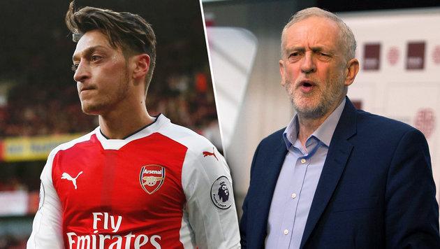England: Politiker knöpft sich Arsenals Özil vor (Bild: APA/AFP/DANIEL LEAL-OLIVAS, APA/AFP/IAN KINGTON)
