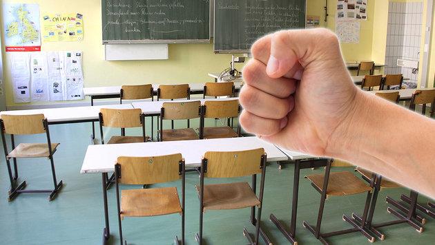 Schlägerei an Schule: 15-Jähriger schwer verletzt (Bild: thinkstockphotos.de, CHRISTIAN JAUSCHOWETZ)