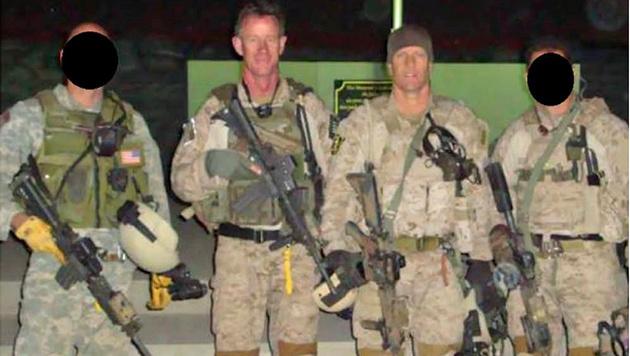 """Die führenden Kommandanten der umstrittenen Einheit """"Seal Team 6"""" (Bild: Screenshot/US Navy)"""