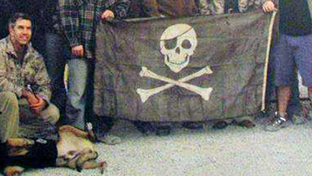 "Soldaten der ""Navy Seals"" (Bild: Screenshot/Navyseals.hu)"