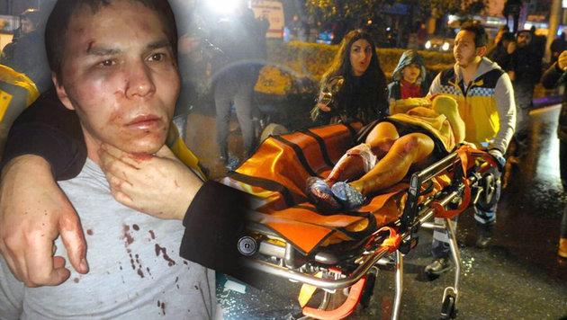Tötete 39 Menschen: Istanbul-Massenmörder gefasst (Bild: AFP/IHLAS NEWS AGENCY, AP)