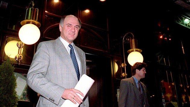 Erwin Pröll im Jahr 1995 (Bild: APA)