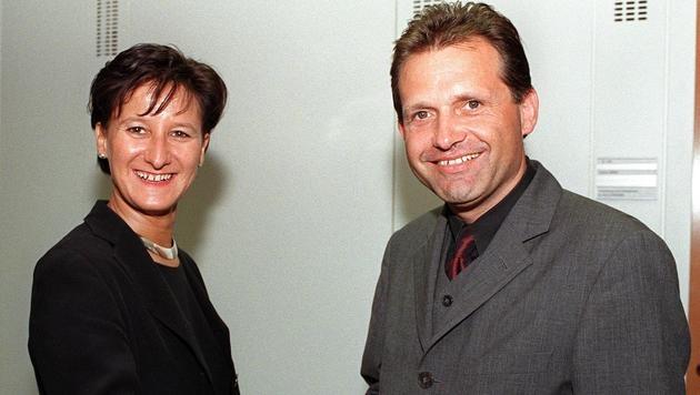 Mikl-Leitner löste 1998 Ernst Strasser als Landesgeschäftsführer der ÖVP NÖ ab. (Bild: APA/SCHNABL)