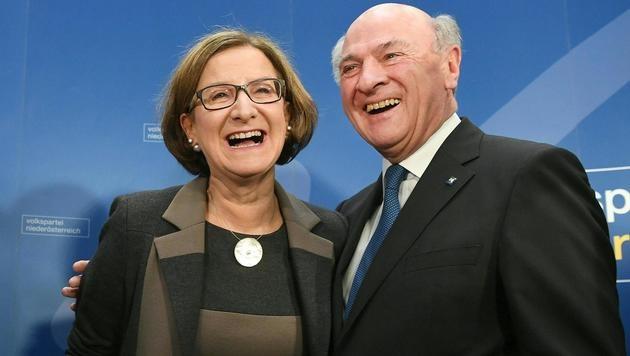 Niederösterreich bekommt erstmals Landeshauptfrau (Bild: APA/HELMUT FOHRINGER)