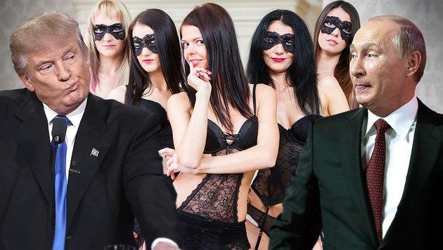 """Putin: """"Unsere Prostituierten sind die Besten"""" (Bild: APA/AFP/GETTY IMAGES/WIN MCNAMEE, AP, thinkstockphotos.de)"""