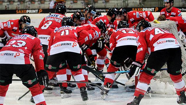 Als VIP zum Eishockeyländerspiel gegen Schweden! (Bild: Österreichischer Eishockeyverband)