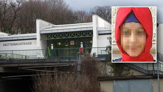 Attacke in Wiener S-Bahn-Station frei erfunden (Bild: Wikipedia.com/My Friend, Facebook.com/Rassistische Übergriffe)