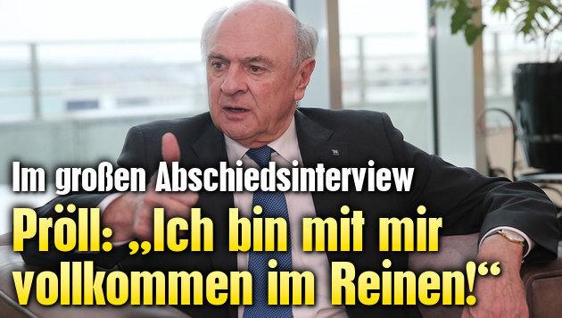 """Erwin Pröll: """"Ich bin mit mir völlig im Reinen!"""""""