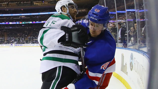 NHL: Grabner geht bei Torfestival leer aus (Bild: 2017 Getty Images)