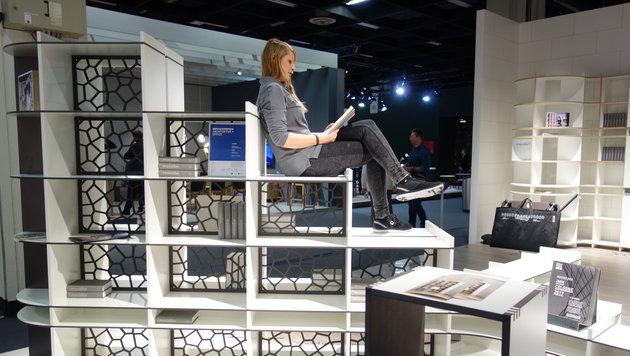 Hingucker gibt es auf der Möbelmesse in Köln jede Menge. (Bild: Barbara Kneidinger)