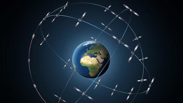 Neue Satelliten für Europa-Navi im All ausgesetzt (Bild: ESA/P. Carril)