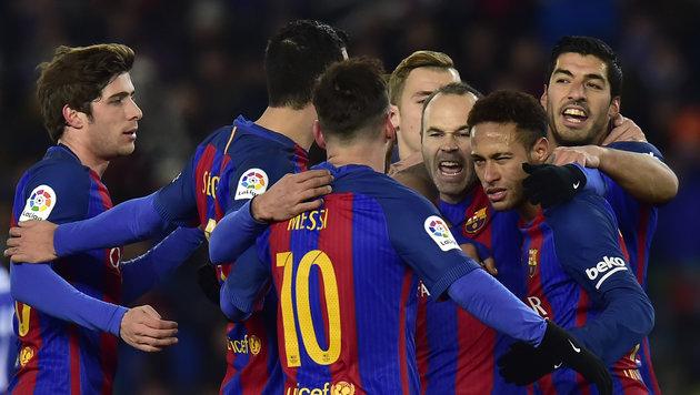 Barcelona feiert 1. Sieg seit 2007 bei Sociedad (Bild: AP)