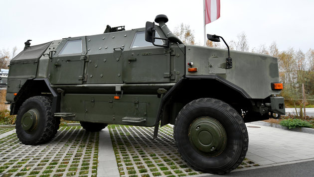 Bundesheer investiert in neue Ausrüstung und Gerät (Bild: APA/Barbara Gindl)