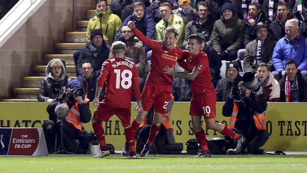 Liverpool wendet gerade noch Pokal-Blamage ab (Bild: AP)