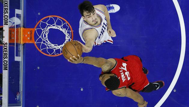 NBA: Pleite für Toronto - Pöltl mit Kurzeinsatz (Bild: AP)