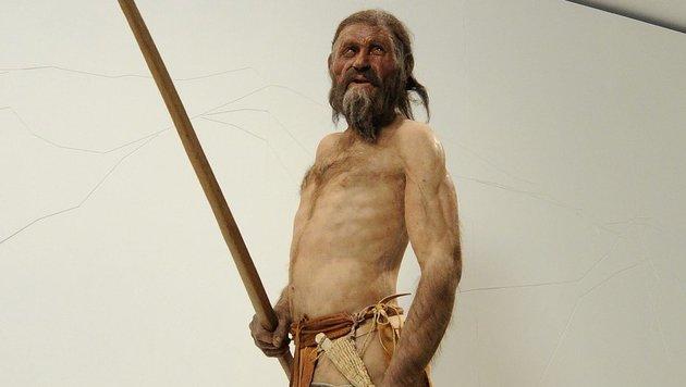 """Ötzis"" letzter Imbiss war wohl Südtiroler Speck (Bild: APA/Robert Parigger)"