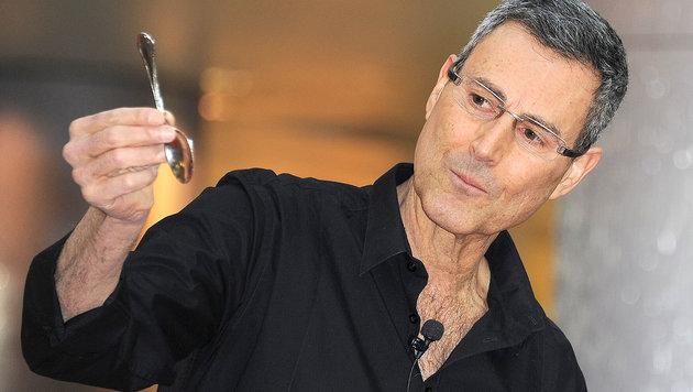 Uri Geller (Bild: Viennareport)