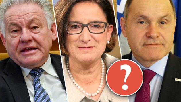 """Der """"Pröll-Faktor"""" wird für Koalition entscheidend (Bild: """"Krone"""")"""