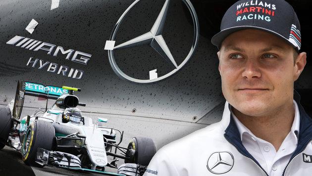 Mercedes: Bottas nur ein Vettel-Platzhalter? (Bild: GEPA)