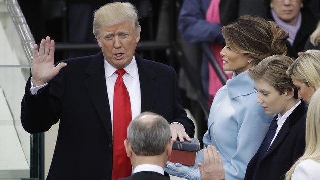 """US-Präsident Trump will """"Islamismus auslöschen"""" (Bild: AP)"""