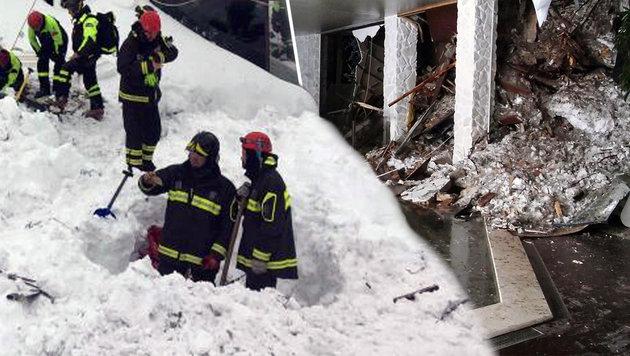 """Helfer: """"Rechnen nicht mehr mit Überlebenden"""" (Bild: AP)"""