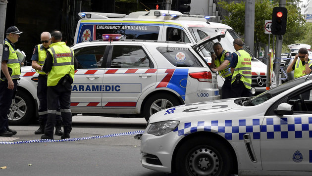 Australien: Mehrfachmord mit Auto in Fußgängerzone (Bild: The Associated Press)