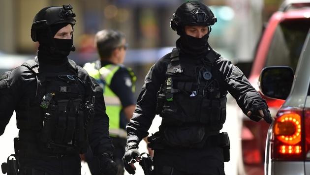 Australien: Mehrfachmord mit Auto in Fußgängerzone (Bild: AFP)