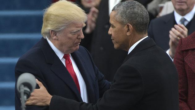 """US-Präsident Trump will """"Islamismus auslöschen"""" (Bild: AFP)"""