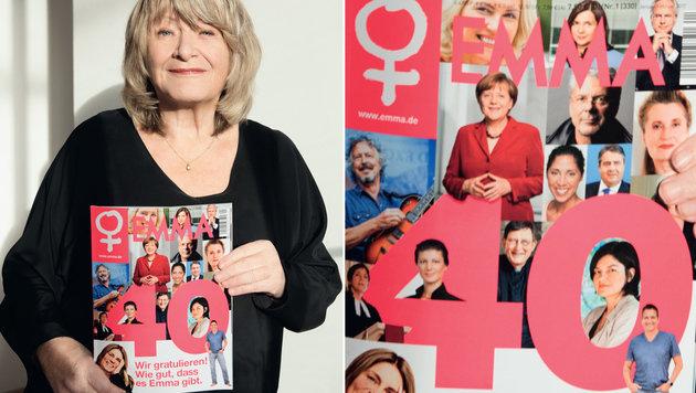 """Alice Schwarzer feiert 40 Jahre """"Emma"""" (Bild: EMMA/Bettina Flitner)"""