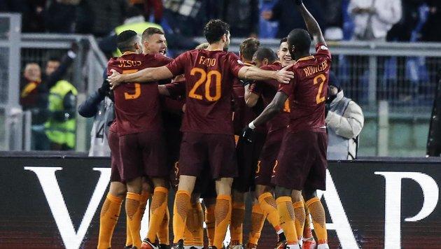 Coppa Italia: AS Roma deklassiert Sampdoria Genua (Bild: APA)