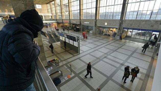 ÖBB schränken WLAN am Wiener Westbahnhof ein (Bild: APA/HERBERT PFARRHOFER)